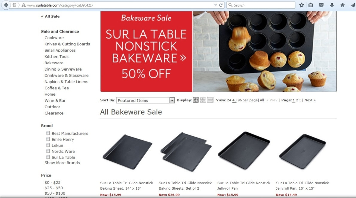 Sur la table coupon codes