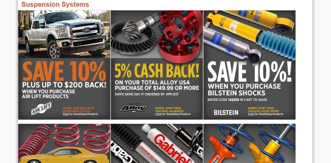 Autoanything discount coupon