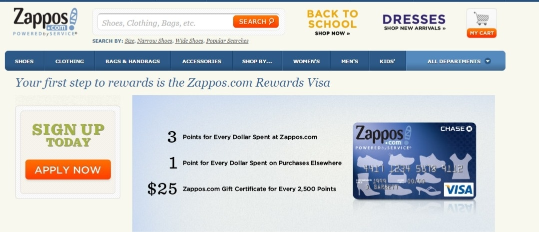 Zappos coupons code