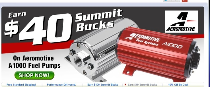 Summit racing coupon code