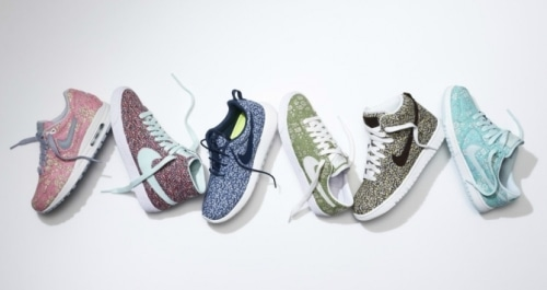 English Brand Liberty London Brings A Softer Side To Nike