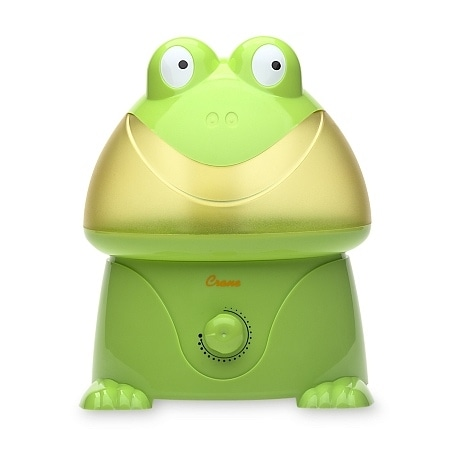 Help Your Child Breathe Easier With A Super Cute Kids' Humidifier Frog For 25% Off + Free Shipping