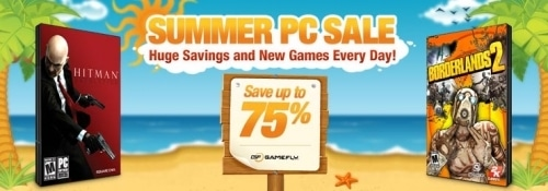 Take Advantage of GameFly's Summer Sale and Save on PC Titles
