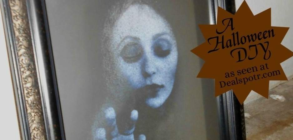 The Haunted Mirror: A DIY Craft for Halloween