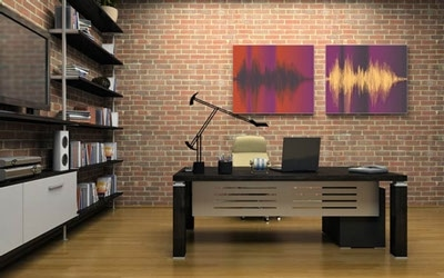 Turn Your Voice Into Fine Art For The Living Room With A Voice Art Canvas
