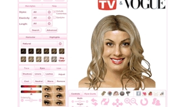 Virtual Hairstyle Makeover Programs