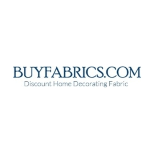 50 Off Buy Fabrics Coupon Promo Codes Verified Feb 2021
