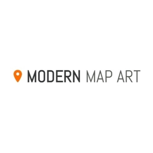 40 Off Modern Map Art Coupons Promo Codes January 2021
