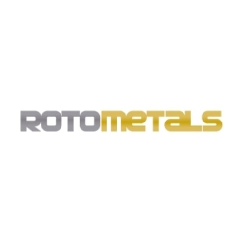 50 Off Roto Metals Coupon 2 Promo Codes February 2021