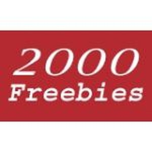 2000Freebies.com promo codes