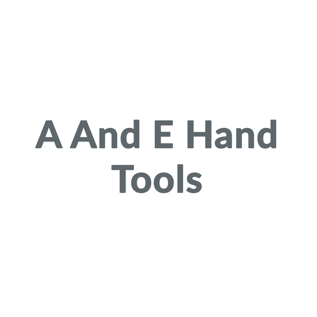 A And E Hand Tools promo codes