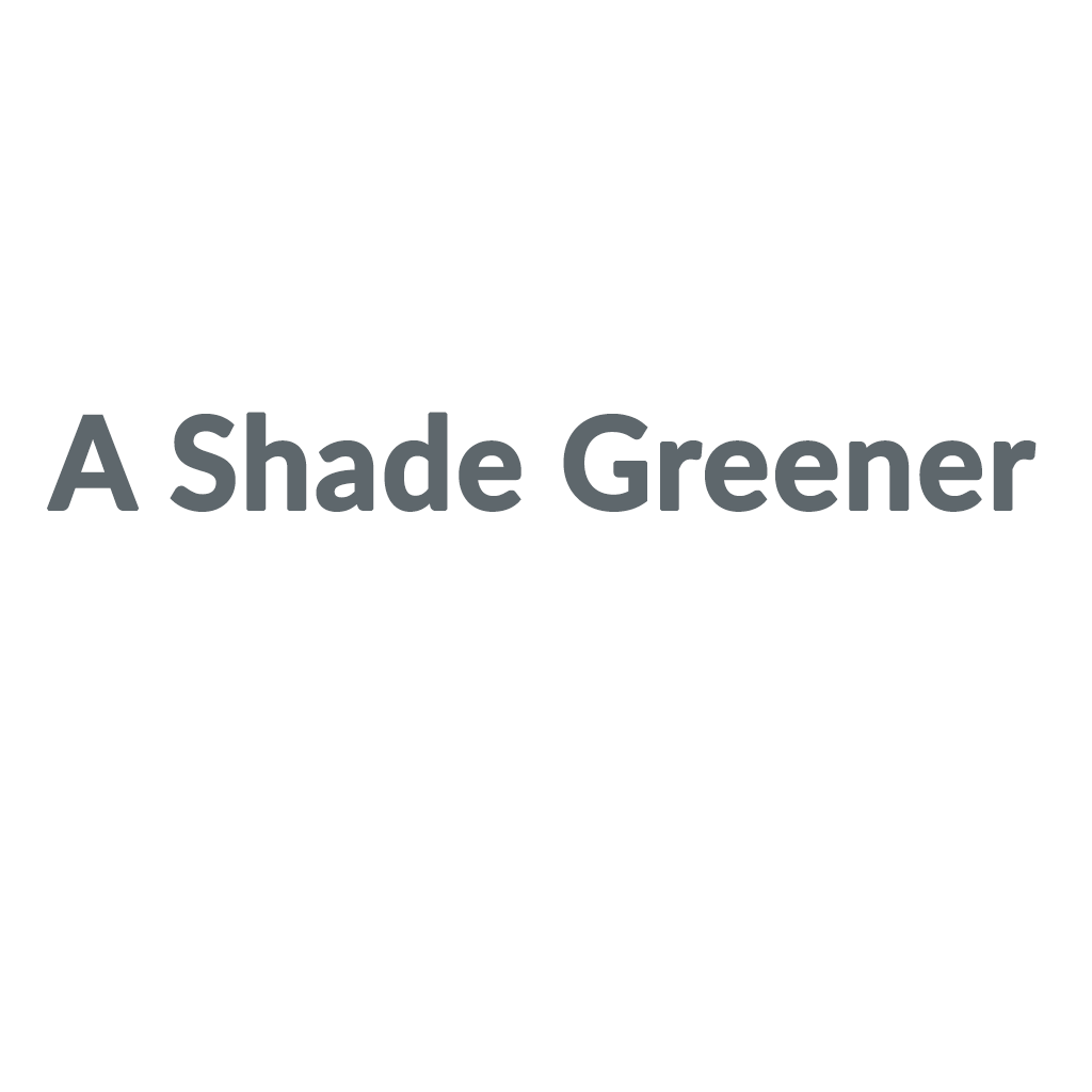 A Shade Greener promo codes