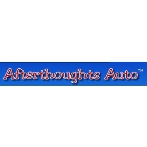 Afterthoughts Auto promo codes
