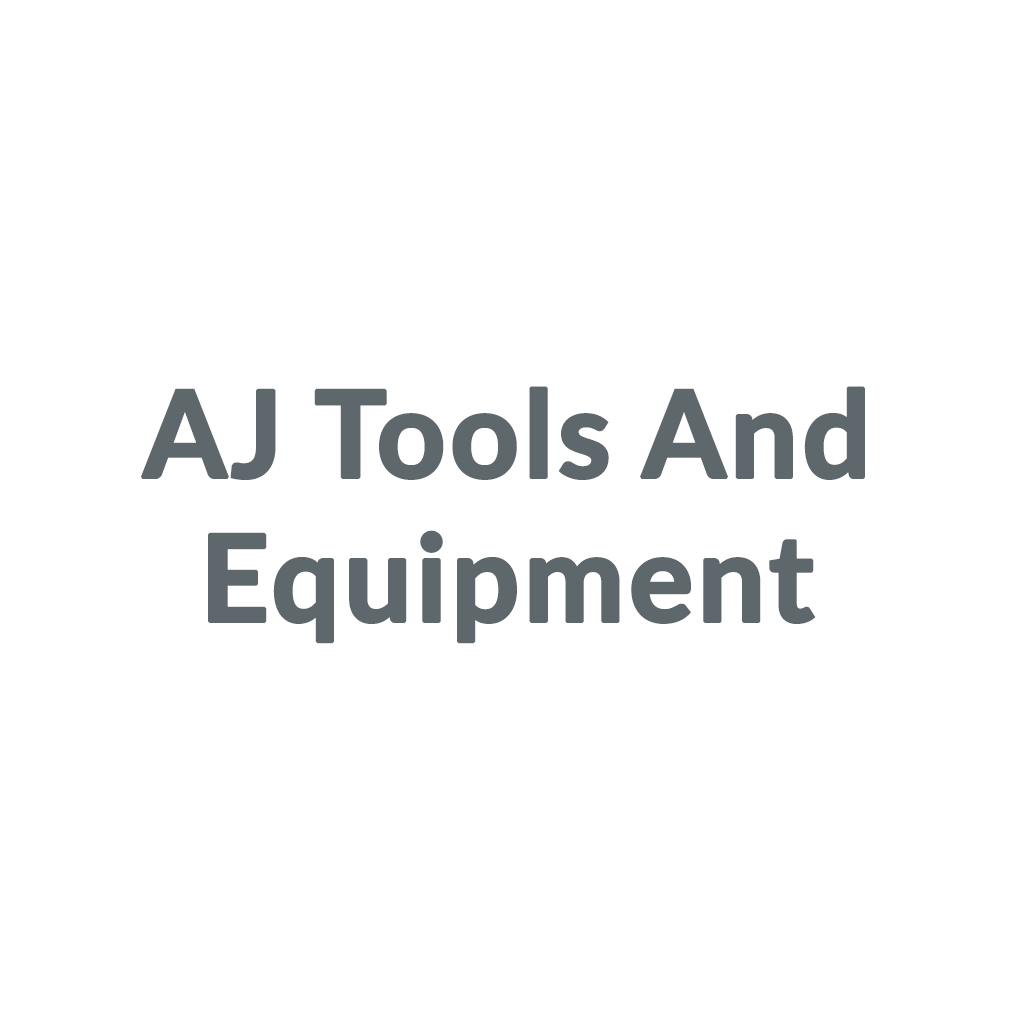 AJ Tools And Equipment promo codes