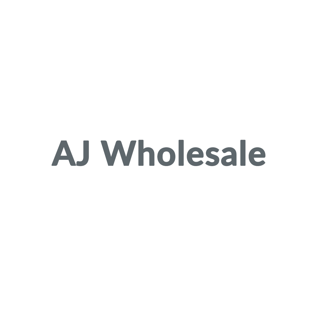 AJ Wholesale promo codes