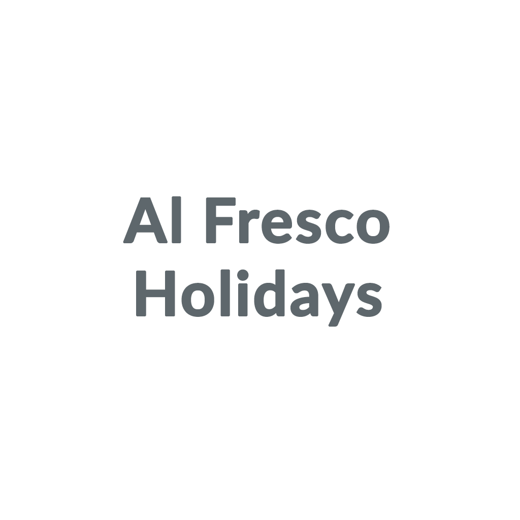 Al Fresco Holidays promo codes