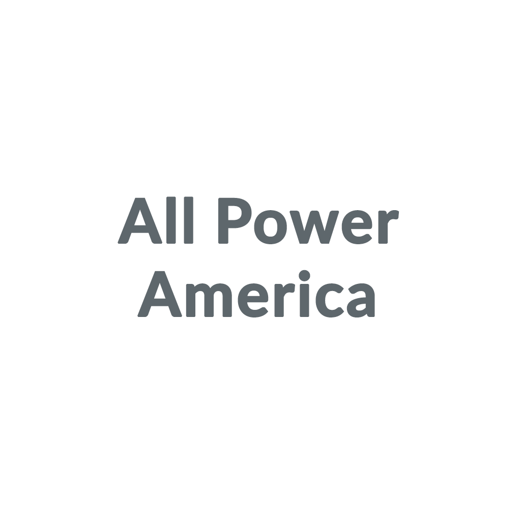 All Power America promo codes