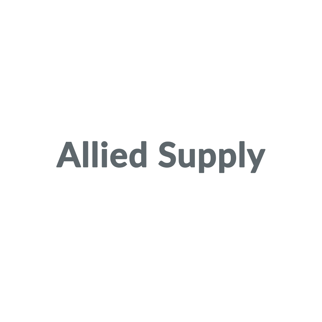 Allied Supply promo codes