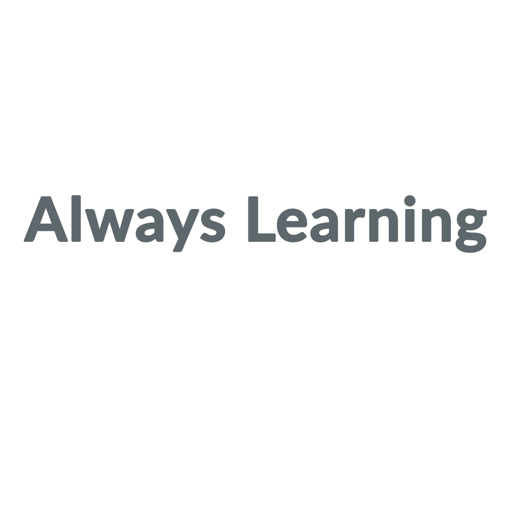 Always Learning promo codes