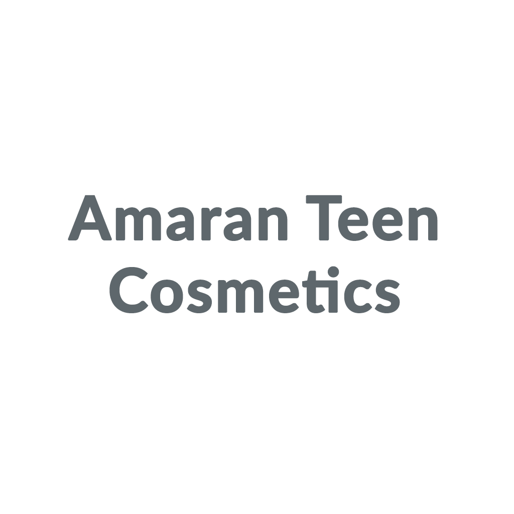 Amaran Teen Cosmetics promo codes