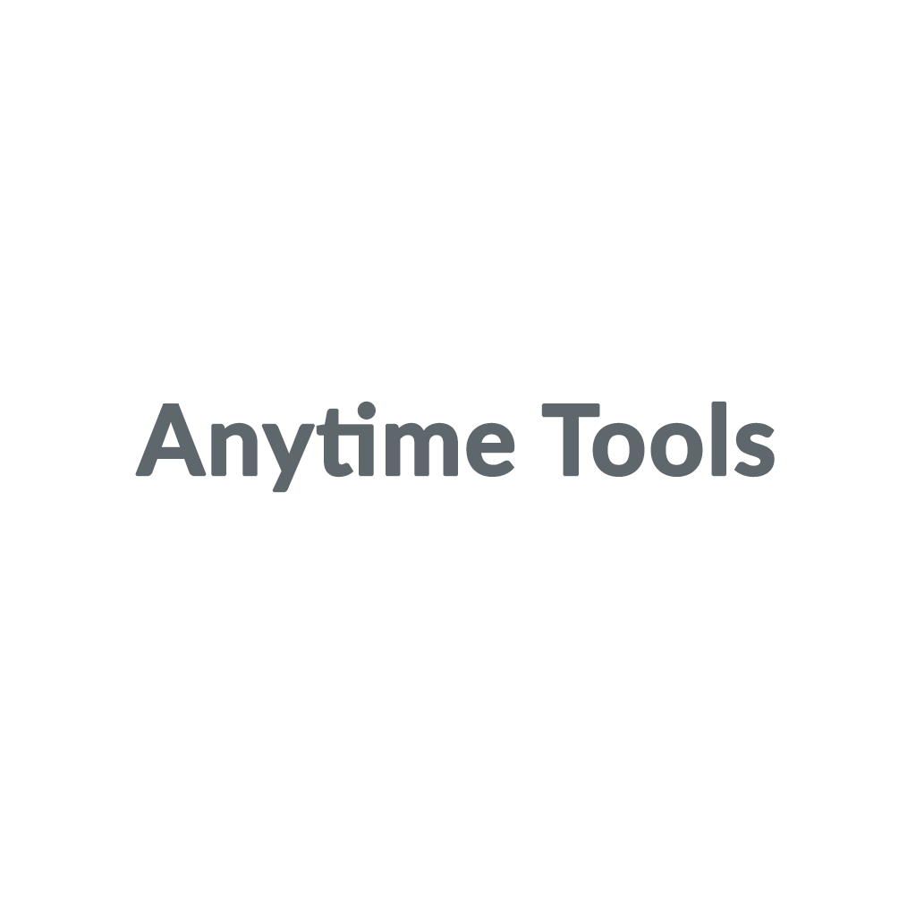 Anytime Tools promo codes
