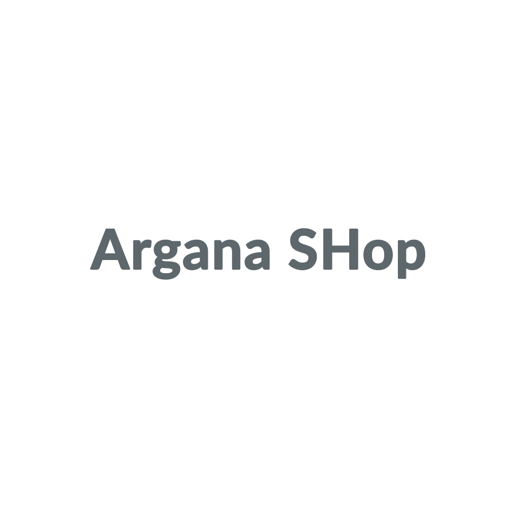 Argana SHop promo codes