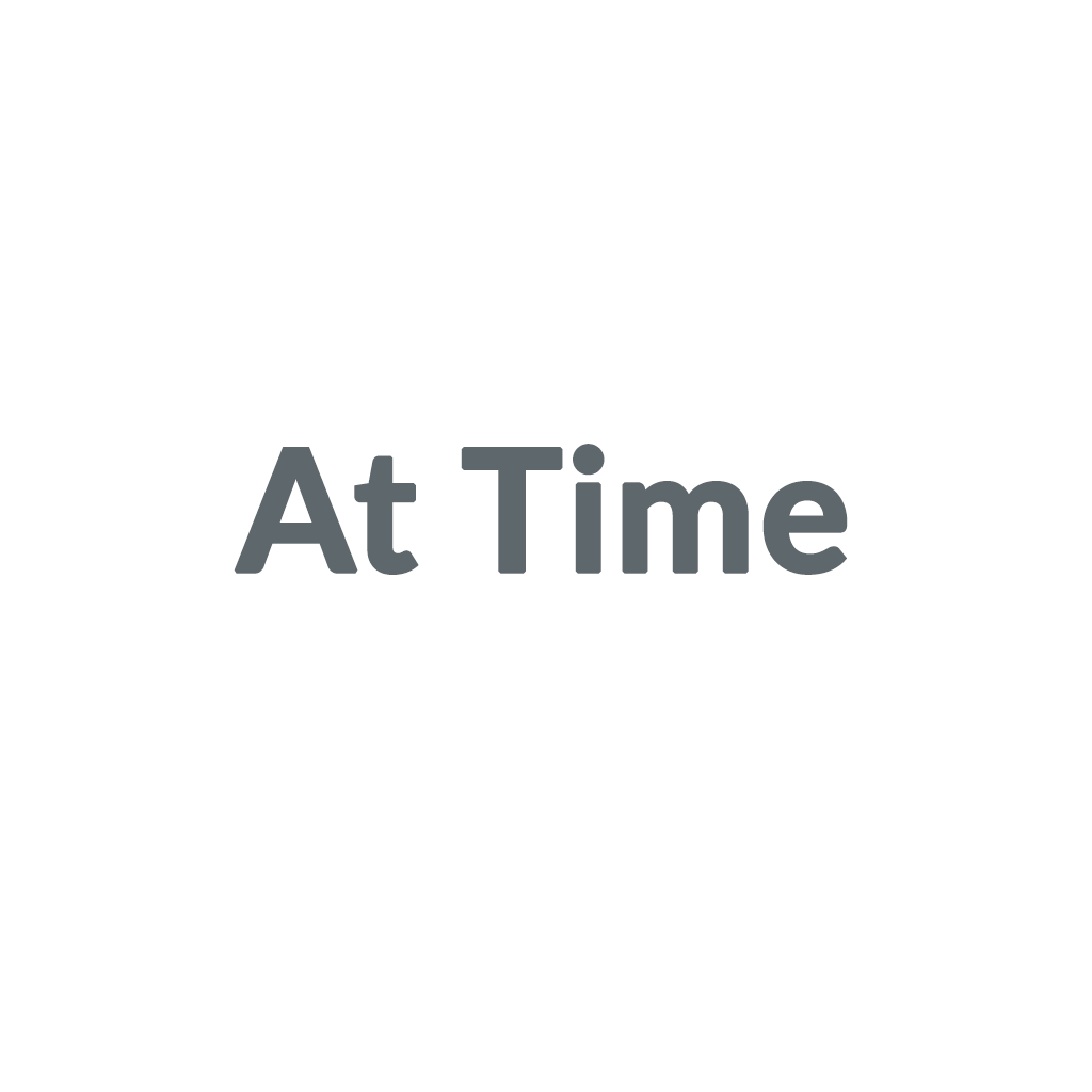 At Time promo codes