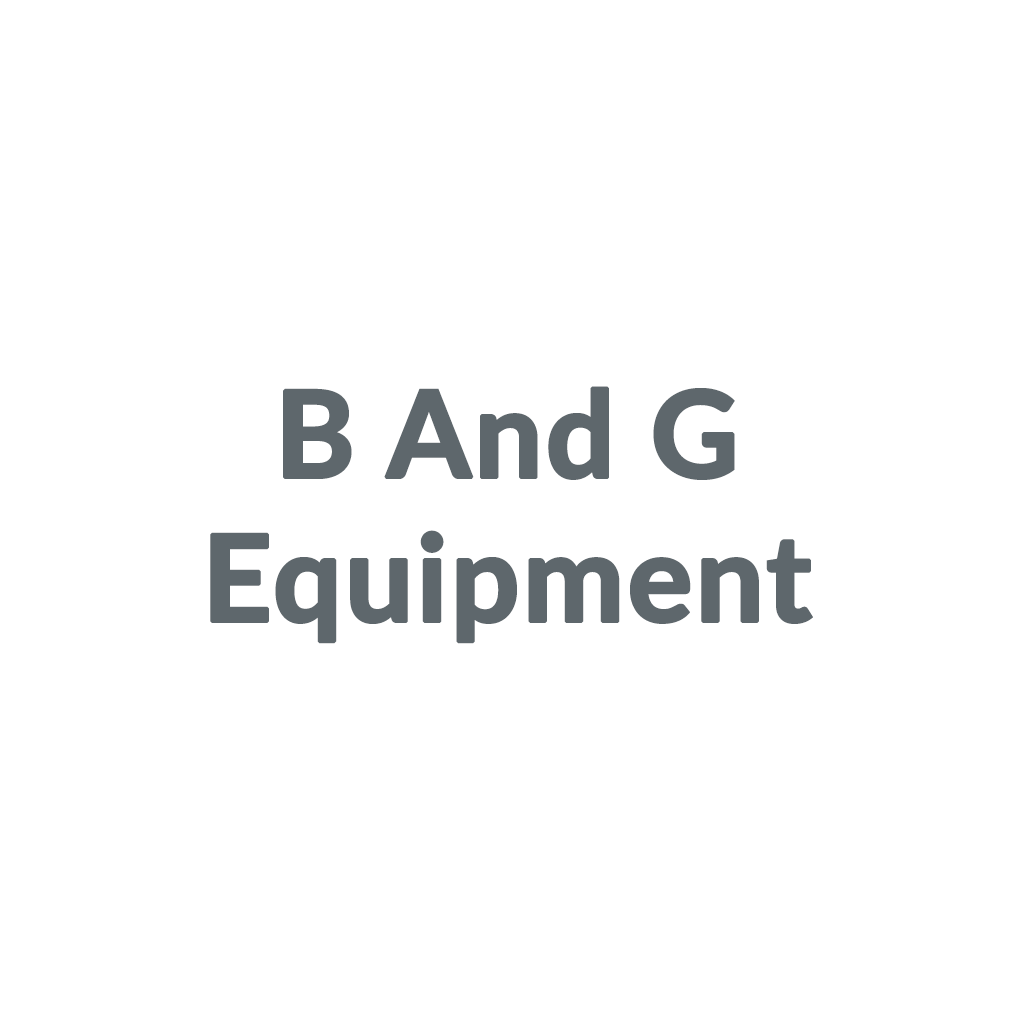 B And G Equipment promo codes