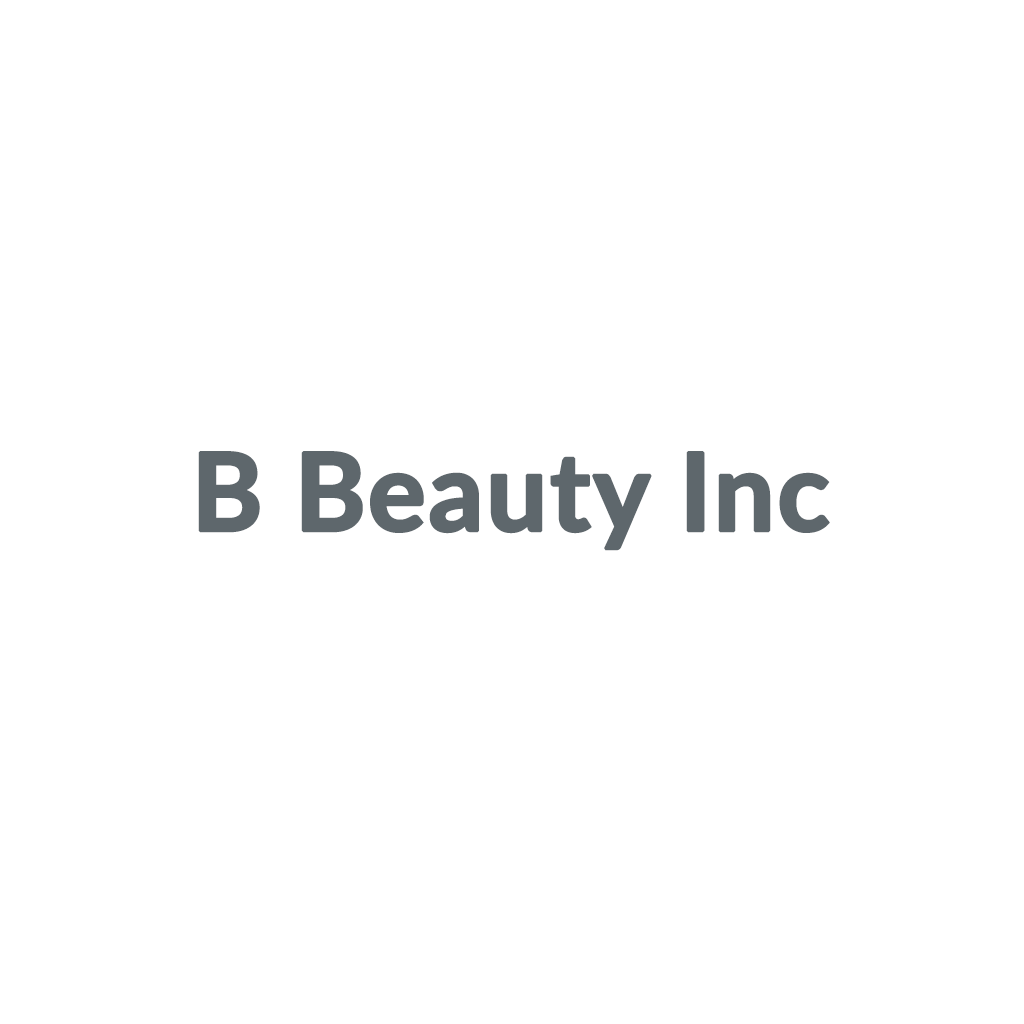 B Beauty Inc promo codes