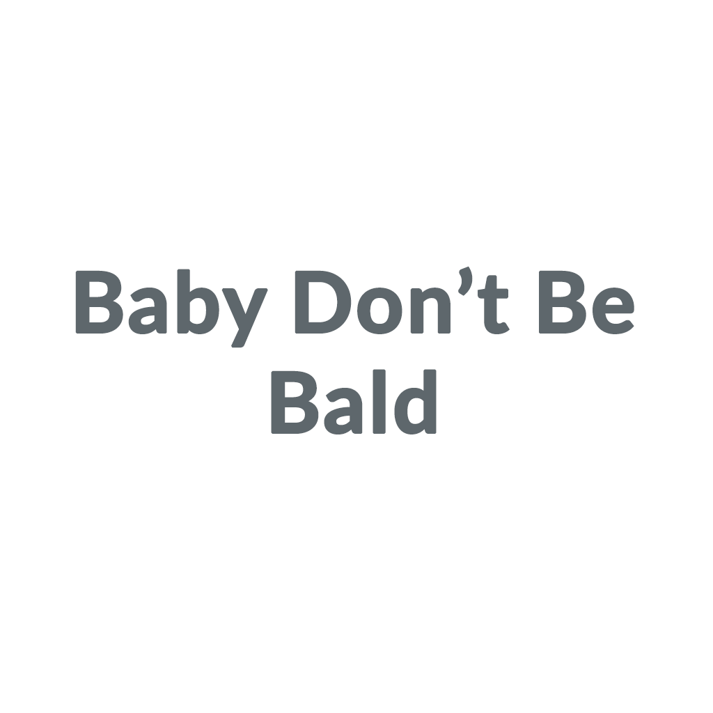 Baby Don't Be Bald promo codes