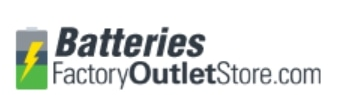 Batteries Factory Outlet Store promo codes