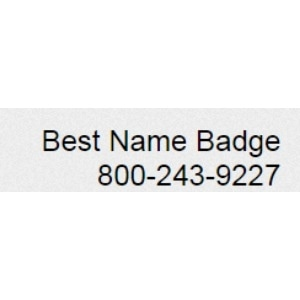 Best Name Badge promo codes