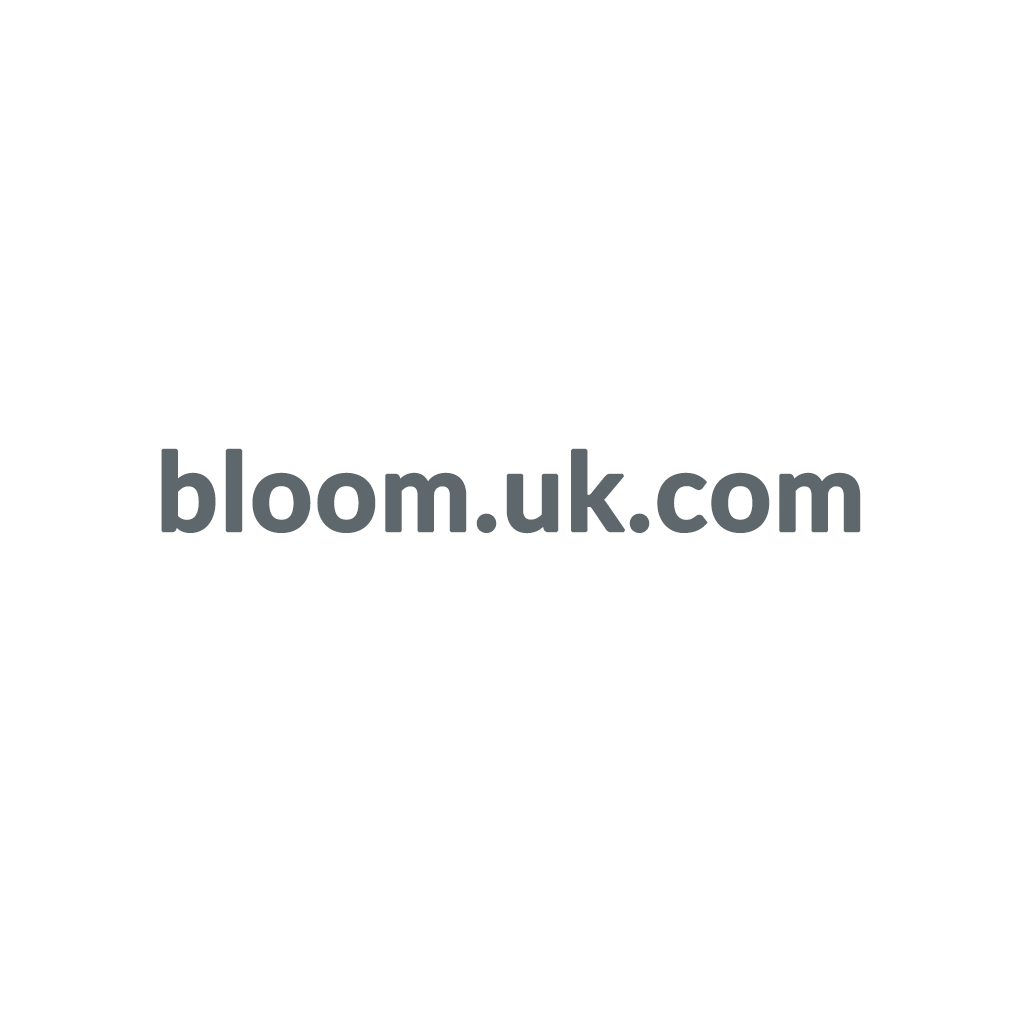 bloom.uk.com promo codes