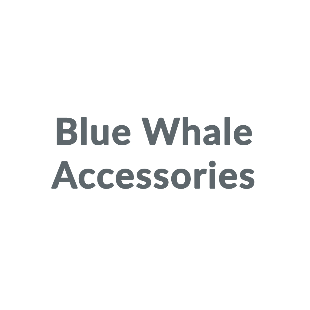 Blue Whale Accessories