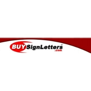BuySignLetters.com promo codes