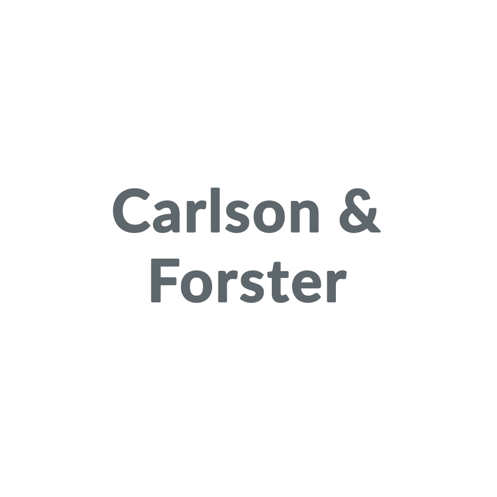 Carlson & Forster promo codes