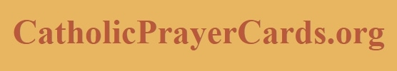 Catholic Prayer Cards promo codes
