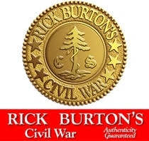 Rick Burton's Civil War Antiques. promo codes