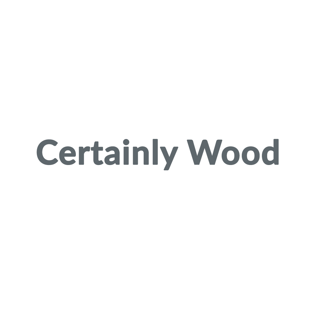 Certainly Wood promo codes