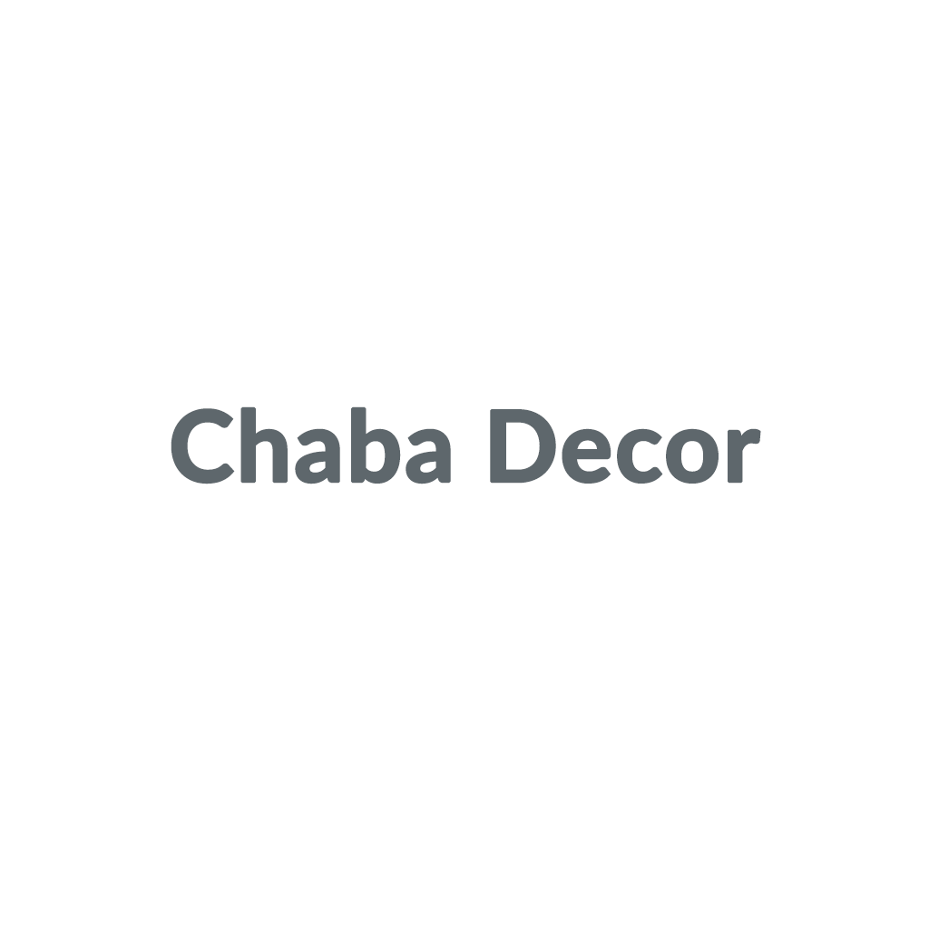 Chaba Decor promo codes