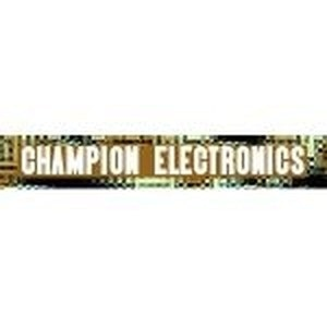 Champion Electronics promo codes