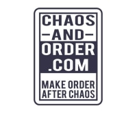 Chaos and Order promo codes