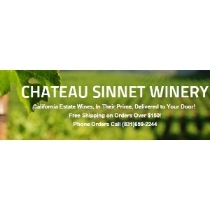 Chateau Sinnet Winery of Carmel Valley promo codes