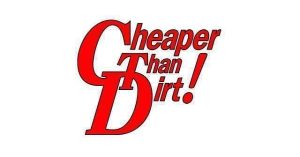 Cheaper than dirt coupon code 2018
