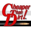 Cheaper Than Dirt logo