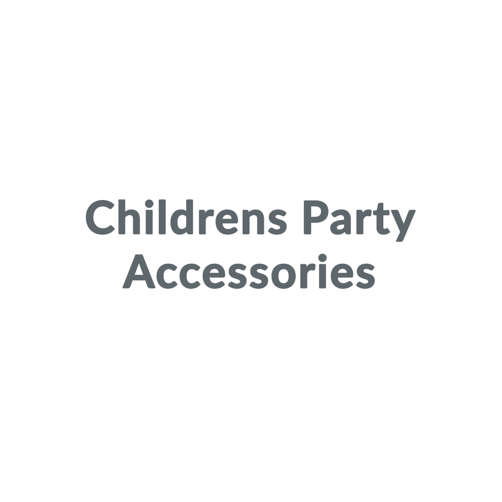 Childrens Party Accessories promo codes
