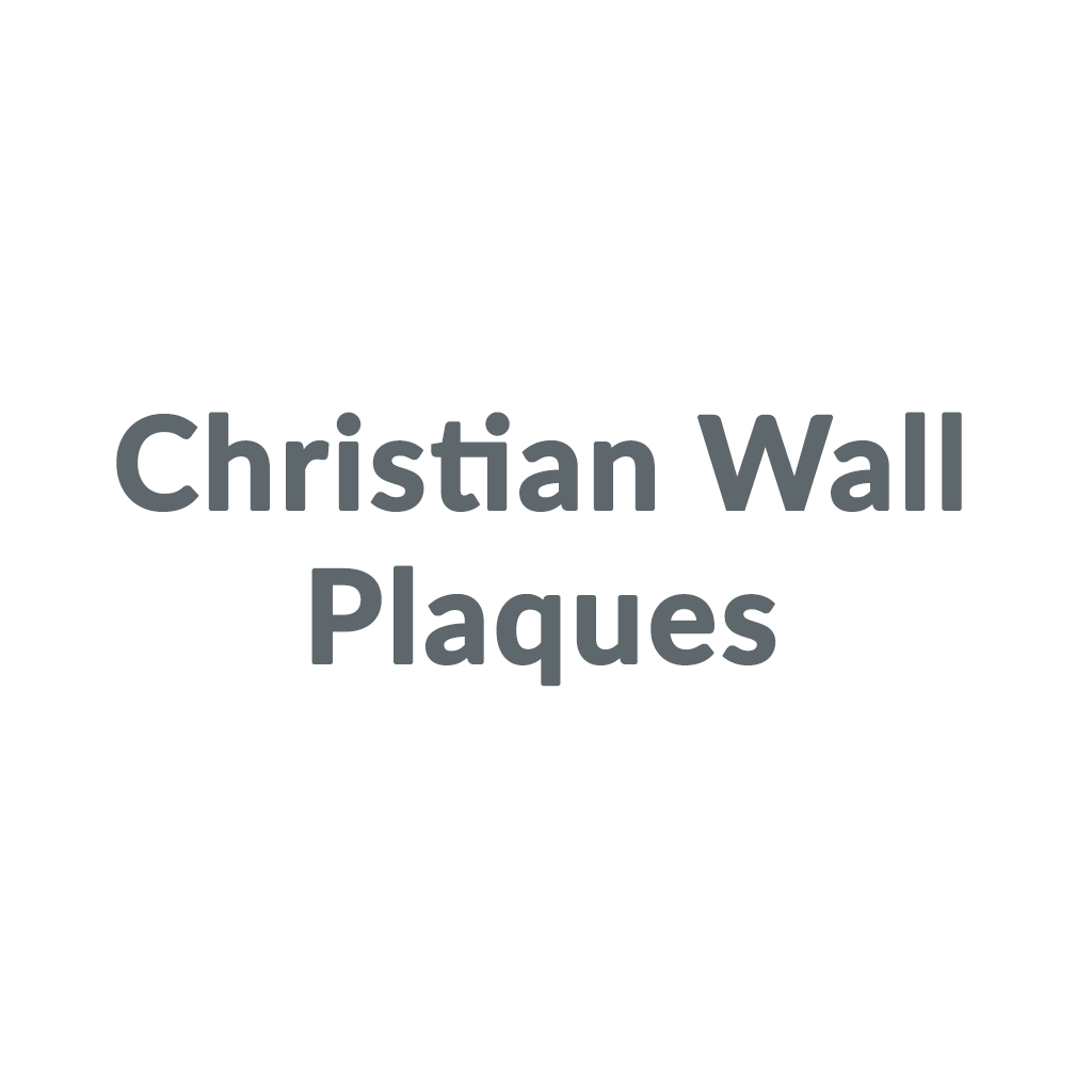 Christian Wall Plaques promo codes