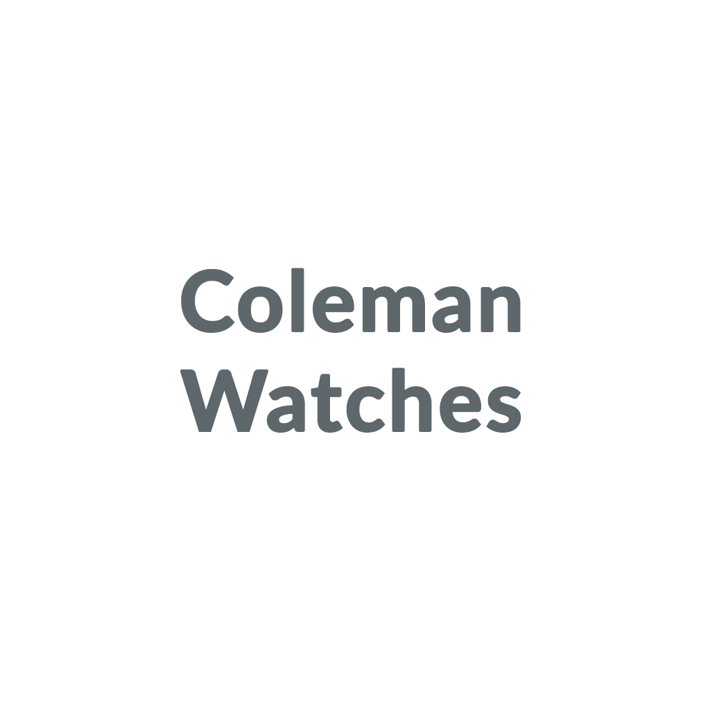 Coleman Watches promo codes