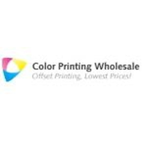 Color Printing Wholesale promo codes