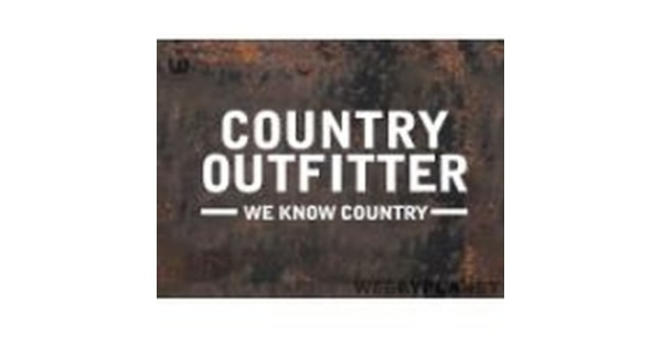 Country Outfitter Promo Codes & Holiday Coupons for December, Save with 10 active Country Outfitter promo codes, coupons, and free shipping deals. 🔥 Today's Top Deal: Get 30% Off Santa's Secret Shop + Free 2-Day Shipping With Purchase Of $+.
